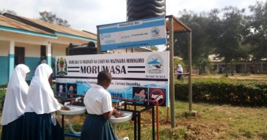 WWX Fights COVID: 8,000 Students With Access to Hand Wash Stations in Morogoro, Tanzania
