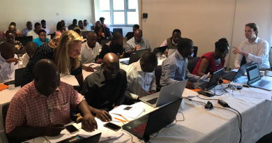 Students and WASH practitioners in Zimbabwe participate in WaterWorX webinar series