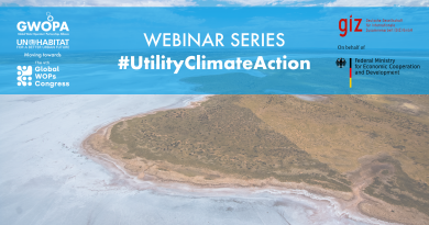 #UtilityClimateAction Webinars: fighting Floods, Droughts, Heat and Wildfire