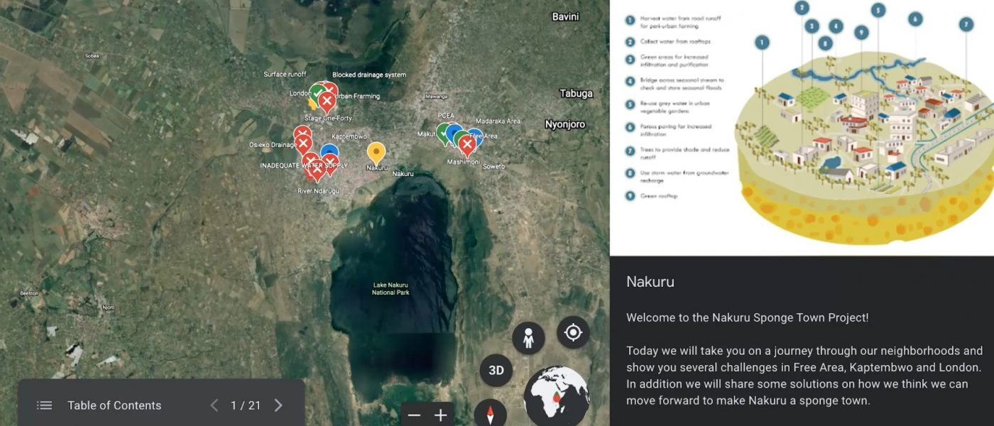 Residents from Low-Income Areas in Nakuru Contribute to Urban Planning and 'Sponge Town' Goals